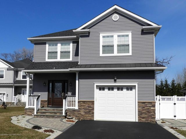 SPEND YOUR SUMMER in this beautiful single family home on a private cul-de-sac in happening Long Branch. Just a few blocks to beach, shopping and restaurants. Soak up the sun and sand, enjoy dining in Pier Village, listen to free concerts in the park, or stay home and BBQ and relax in your tranquil retreat. Perfect for families, with private fenced in yard, patio, grill and fully furnished for outdoor entertaining. Inside: home features gourmet kitchen, spacious rooms and large closets, w/d on 2nd floor and use of garage. Rental comes with 2 beach badges, 4 beach chairs, 2 bikes, and beach locker, which makes for an easy walk or ride to the ocean. UTILITIES INCLUDED! $25,000; Available June 15 - Sept. 8 2020.    $300. cleaning fee. No Pets, No Smoking. Call today to make an appointment!