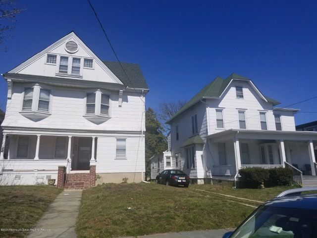 INVESTOR ALERT!  A rare opportunity to own 2 side-by-side multi units only 3 blocks from the Asbury Park ocean and boardwalk! (see MLS #22011592 for details on the 5 unit ).  Owned by the same family since the 60's, this well managed 3 family resides on a large 50'x150' lot with a driveway for 4 plus cars to park off street.  New high efficiency furnace and hot water heater in 2018.  NJ 5 year inspection good thru 4/19/23.  Rents are under market so room for growth. Options abound as you can occupy one of the units, rent out all 3 or restore to a single family and collect rent from the 5 unit next door.  Income and expenses provided upon request.