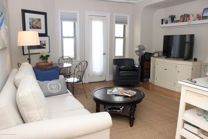 If you have to work from home, why not do it with an ocean view? Life really is better at the shore! Move into this large 1BR condo in the historic, pet-friendly Santander and you'll be just a couple of short blocks to the sand and the sea. This coveted ''L'' line unit boasts a private balcony and working fireplace. Whether enjoying the ocean and lake views from your balcony, or the fireplace views from your couch, you'll love your new home. Hardwood floors throughout, and updated kitchen and bathroom mean you can move right in. With the current interest rates so low, why wait any longer for YOUR place at the shore?