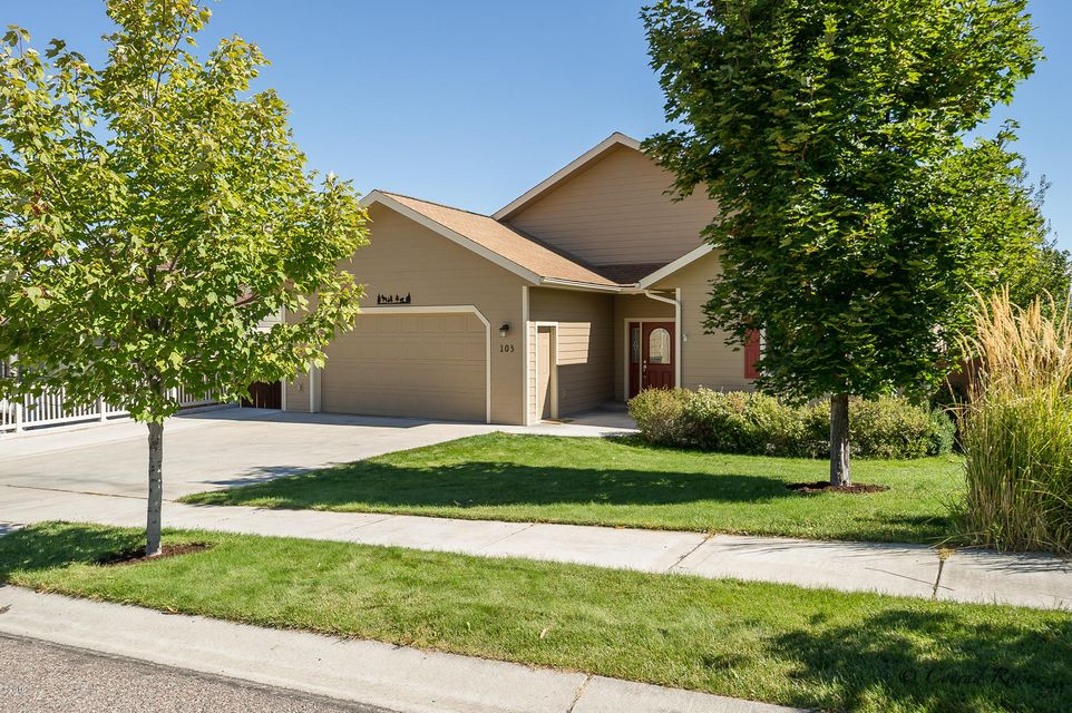 Spacious single family home with 5 bedrooms and 3 bathrooms, in welcoming, upscale neighborhood. Just 5 minutes from hospital, Kalispell Middle School, and community college. Featuring open living area with vaulted ceilings and new hardwood floors, and upgraded kitchen boasting stainless steel appliances and granite counter tops. The upper level deck on this home showcases mountain views and overlooks connecting park. The backyard has a 6 foot cedar privacy fence that completely encloses the back and side yards with apricot, peach, and apple trees. Lower level could be used as a mother-in-law apartment. Lots of recent upgrades and additions.