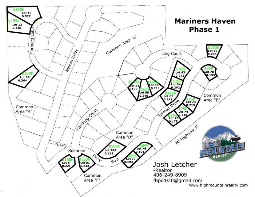 Lot 6b Mariners Loop, Rexford, MT 59930