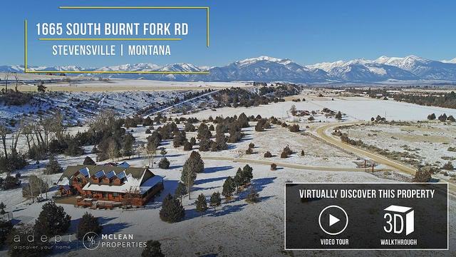 1665 South Burnt Fork Road, Stevensville, MT 59870