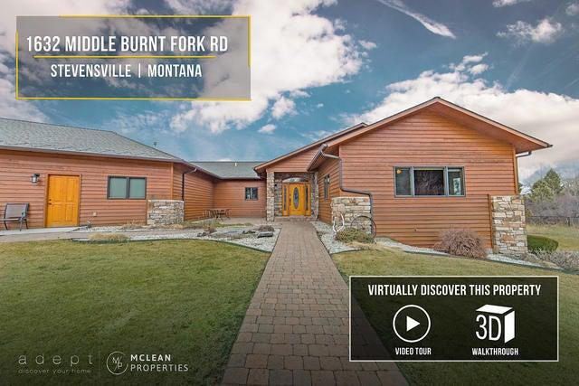 1632 Middle Burnt Fork Road, Stevensville, MT 59870