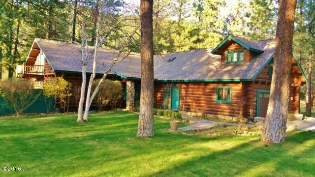 Log Home with Riverfrontage