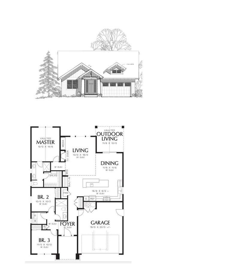 Blueprints of home.