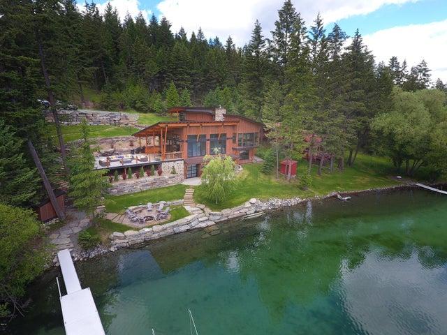 Lake to Property