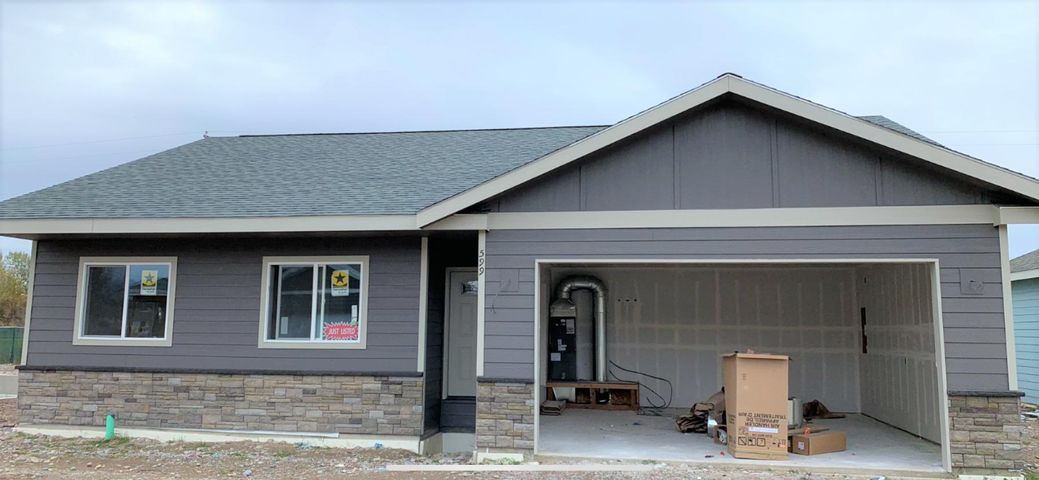 Front View of Home-Landscaping to come