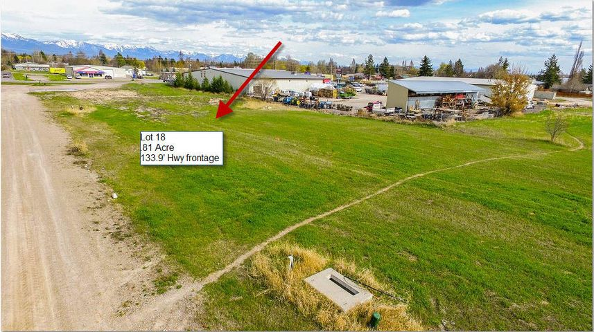 Lot 18; 0.73 Acres; 133.9' of Hwy frontage