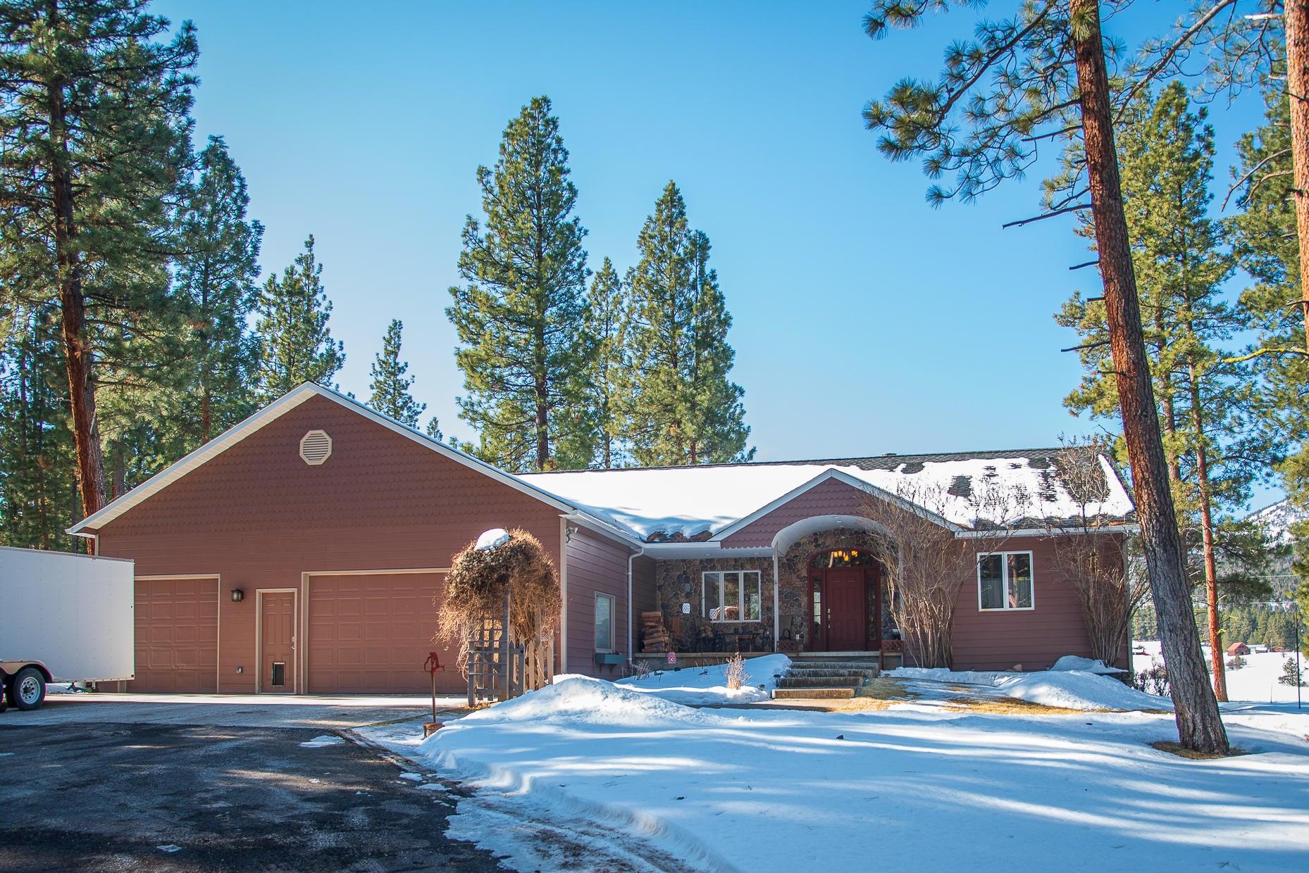 23395 West Fork Bear Creek Road, Bonner, MT 59823
