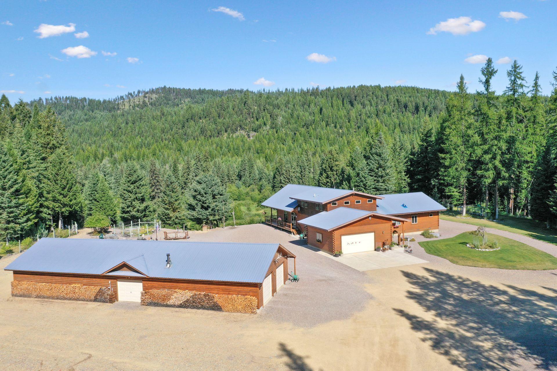 7428 Fortine Creek Road, Trego, MT 59934