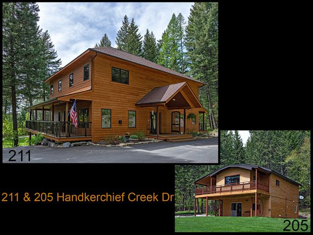 211 & 205 Handkerchief Creek Drive, Kalispell, MT 59901
