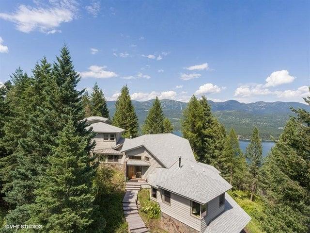 No neighbors in sight! Whitefish Lake & Ski Resort view.