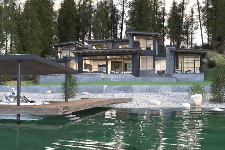 280 Sunnyslope Road, Lakeside, MT 59922