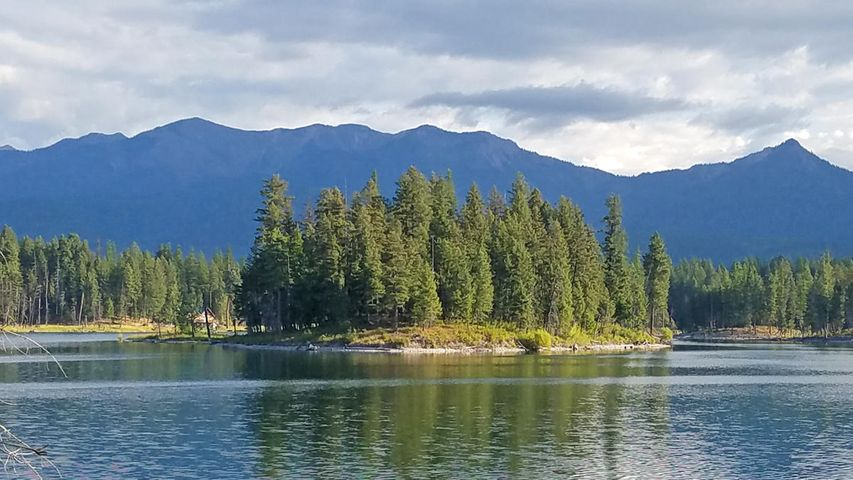 Echo Lake Island, Bigfork, MT 59911