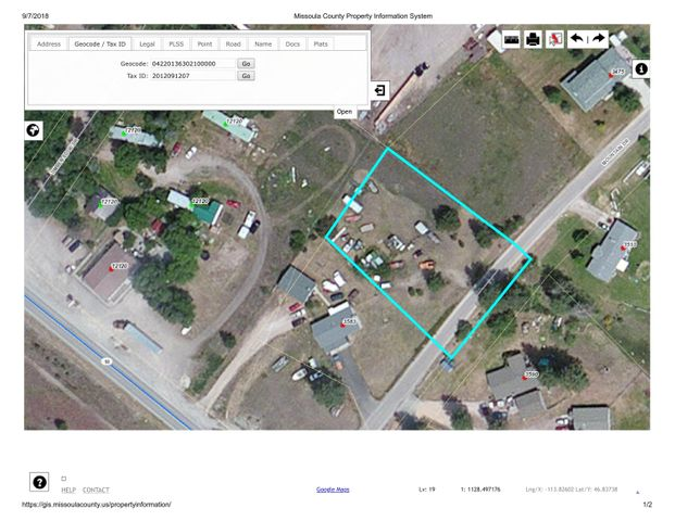 3583 Mountain Drive Lot 8c, Clinton, MT 59825