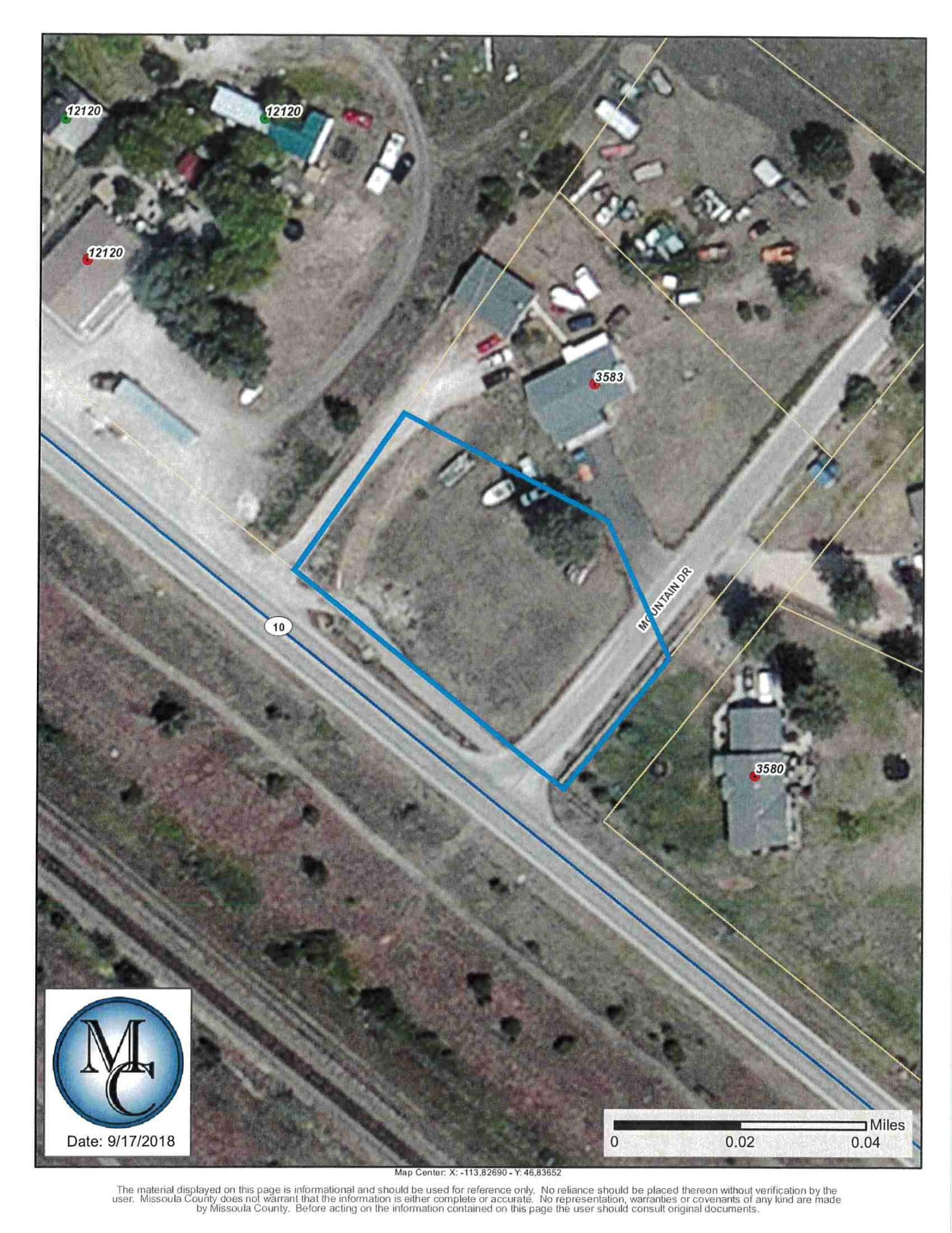 3583 Mountain Drive Lot A, Clinton, MT 59825