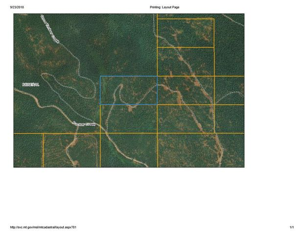 #214600 Packer Creek Road, Haugan, MT 59842