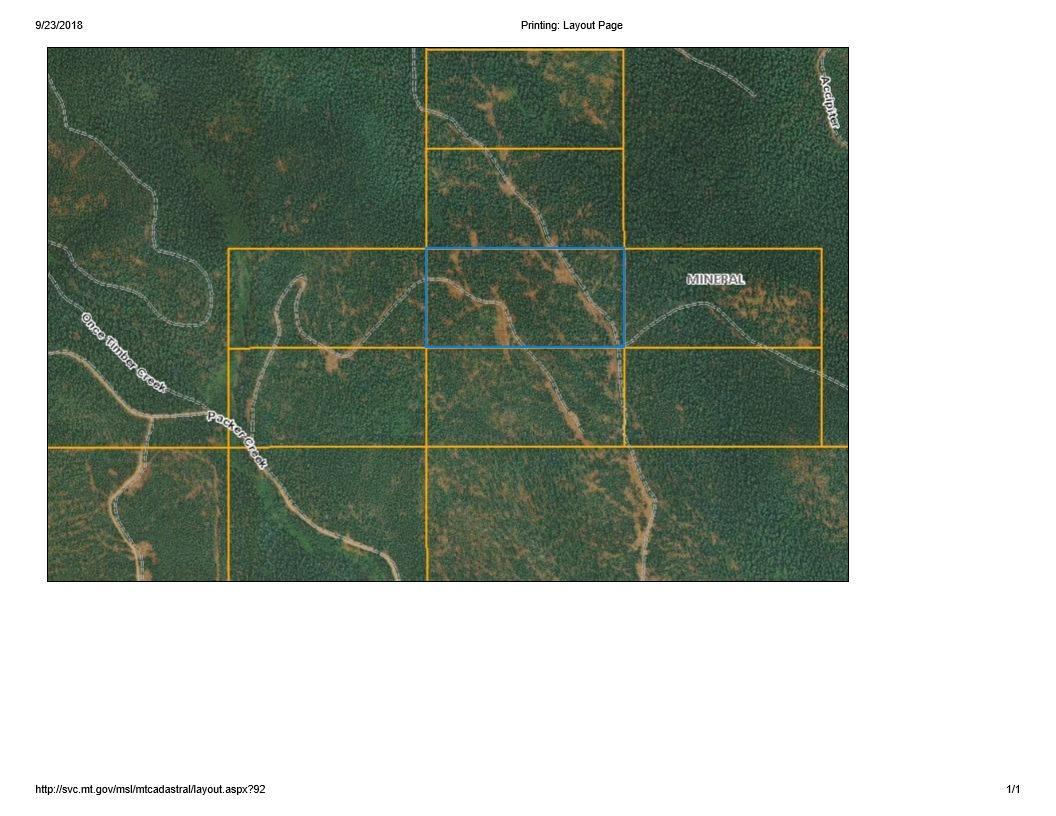 #599243 Packer Creek Road, Haugan, MT 59842