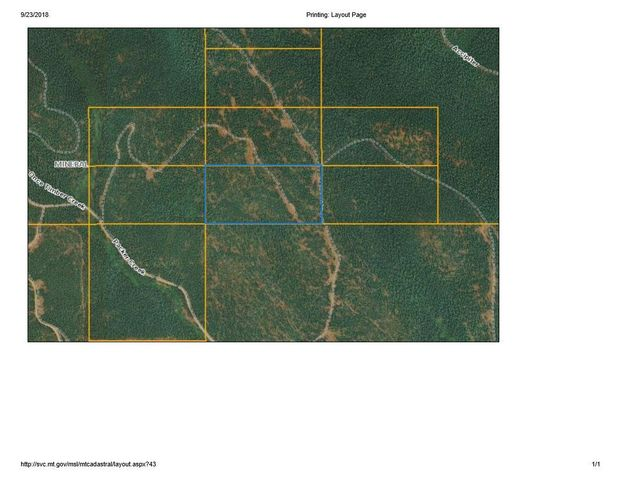 #599244 Packer Creek Road, Haugan, MT 59842