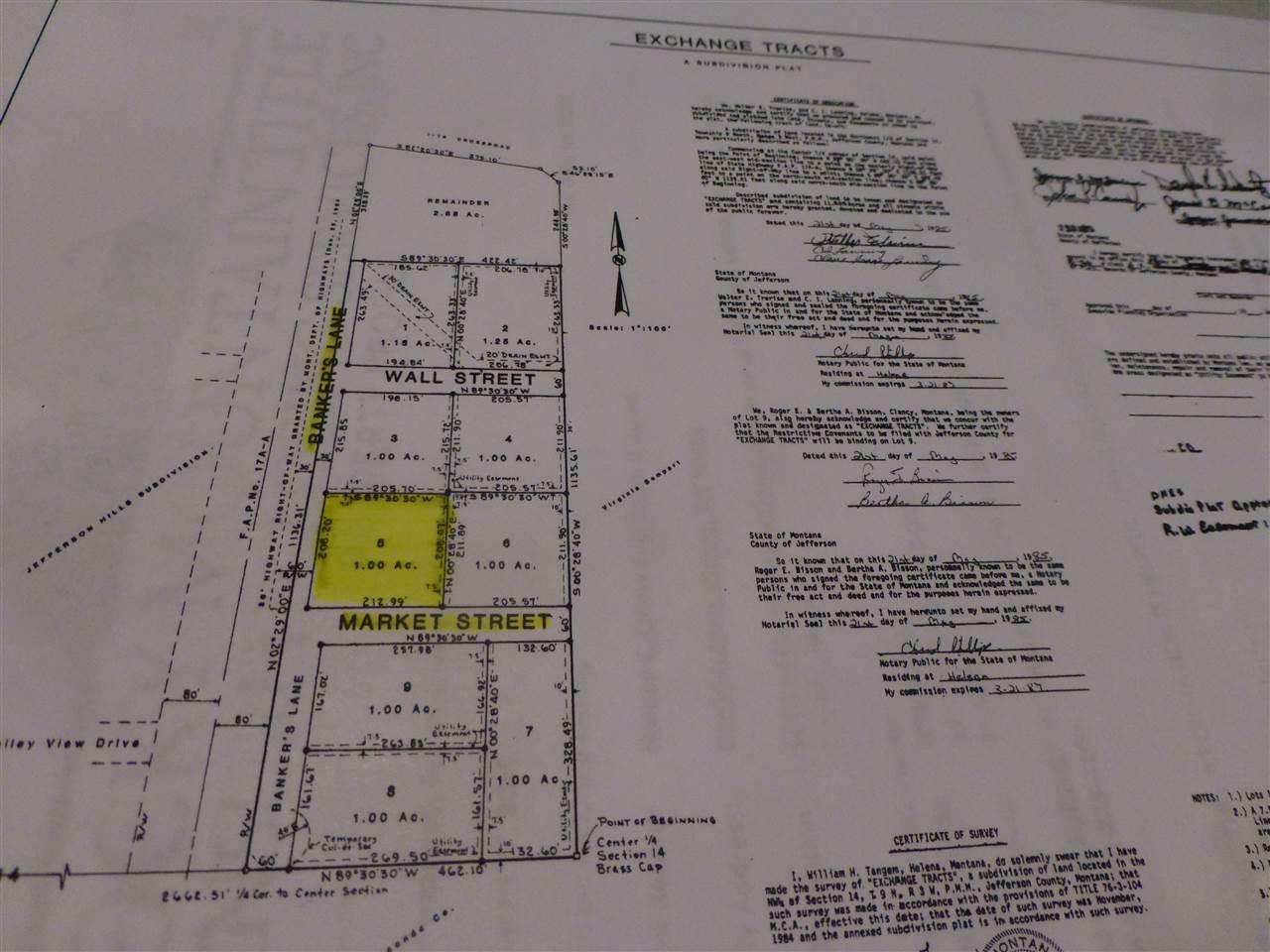Lot #5 Bankers Lane, Montana City, MT 59634