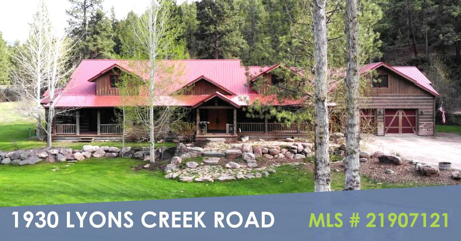 1930 Lyons Creek Road, Wolf Creek, MT 59648
