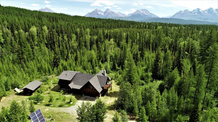 1055 Trail Creek Road, Polebridge, MT 59928