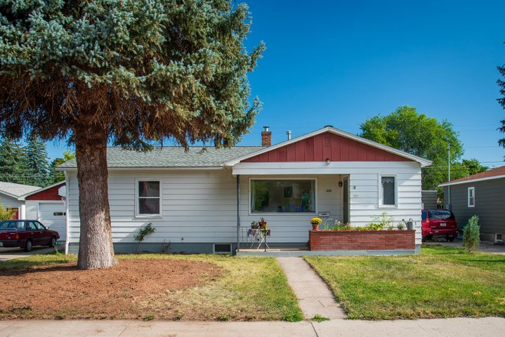 Legal, non-conforming duplex investment property in the Rose Park / Slant Streets neighborhood. This property is close to downtown, UM, and the heart of Missoula. Two separate living spaces both with a washer / dryer hook-ups and separate entrances. Upstairs: 3bd / 2 bath, original hardwood floors, charming arched doorways, large cupboard pantry, and big windows. Downstairs: 2bd / 1 bath with large egress windows and new flooring. This property comes with a single and double garage as well as a 300SF covered outdoor area and a ''bonus'' room between the garages on a large lot. Roof was replaced in 2014. Perfect owner occupy. Perfect for vacation rentals, or keep tenants to pay your mortgage.