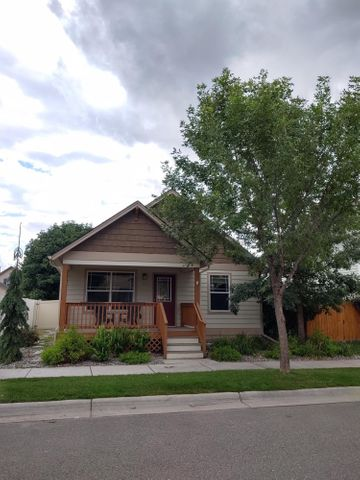 Don't miss this opportunity for a very nice and newer affordable 2 bedroom 1 bathroom home located in Windsor Park! This house features hardwood flooring, upgraded fixtures, ceiling fan and central air. The kitchen includes a pantry, dishwasher, fridge with ice-maker and washer & dryer.There is a double detached garage. Enjoy the front deck, back patio and fenced private yard with underground sprinkler system. *This property is rented through April of 2020.  Contact Aaron Gingerelli at 406.370.9628 or your Real Estate Professional for a showing today!