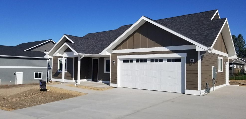 OPEN HOUSE SUN OCT 27TH 1-4 PM. Quality new construction in a great neighborhood.  Home features zero step one level living with nice finishes throughout.  2 car garage is fully finished and has extra workshop/storage space. The lot has a nice flat backyard. Check out the 10 ft ceilings in the main room and 9 ft throughout the rest. Beautiful master bathroom and tiled shower. Nice laundry/drop zone right off the garage.  This home has great flow and beautiful large living room windows. The neighborhood allows for boat/rv parking and the extra parking pad is already done. Built by a quality builder who lives in the neighborhood.  This new home is finished and ready for occupancy.  Listed by KC Hart