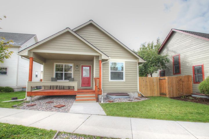 Well laid out 3 bed 3 bath home with large 2 car garage in a desirable area of Missoula. Open floor plan and great sight lines from the kitchen, dining and living room. The floor plan features a large master bedroom with walk in closet and en suite bath. The second bedroom on the main floor has its own bathroom that is also accessible from the hallway. Downstairs is a nice family room, large bedroom with egress window, 3rd full bath, laundry room and an unfinished storage area with an egress window that could be finished into a 4th bedroom. Call Casey at (406)370-7333 or your real estate professional today!