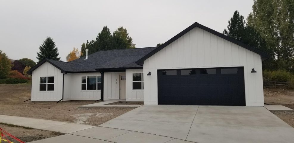 Well designed new construction featuring one level living with zero step entry. This home is 1984 sq ft with 3 bedrooms and an office. There is a nice laundry room/drop zone coming in from the garage and the master bedroom features a large walk in closet and a beautiful master bath.  3 car garage is a tandem on one side so could also be shop space. Adding an RV pad is an option as this new neighborhood allows parking of an RV or a boat. Buyer can be part of choosing amenities as allowances are designed for hard surface kitchen and master bath counter tops, tiled showers and nice cabinetry. This new neighborhood has proven to be one of the best in Missoula as it has great views and no through traffic. Construction is on schedule for an early Dec completion. Listed by KC Hart