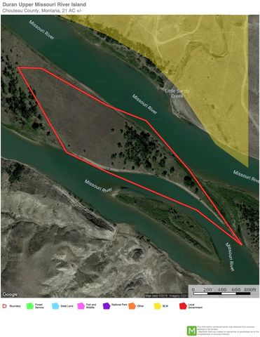 S11/S12 Upper Missouri River, Fort Benton, MT 59442