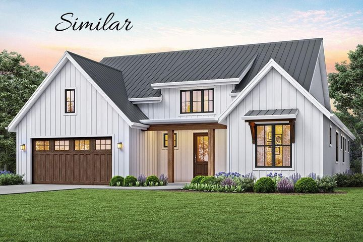 New ranch style home to be built by long time Missoula builder MTV Construction. Main floor 2 bed, 2 bath, open floor plan, deck, unfinished daylight walkout lower level. Room for 2 more beds, bath and big family room. Great setting! Common area on 2 sides of lot.
