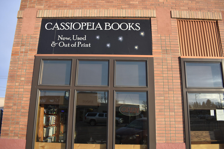 721 Central Avenue Cassiopeia Books, Great Falls, MT 59401
