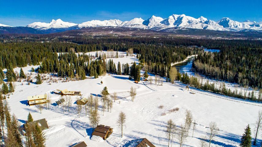 13750 N Fork Road, Polebridge, MT 59928