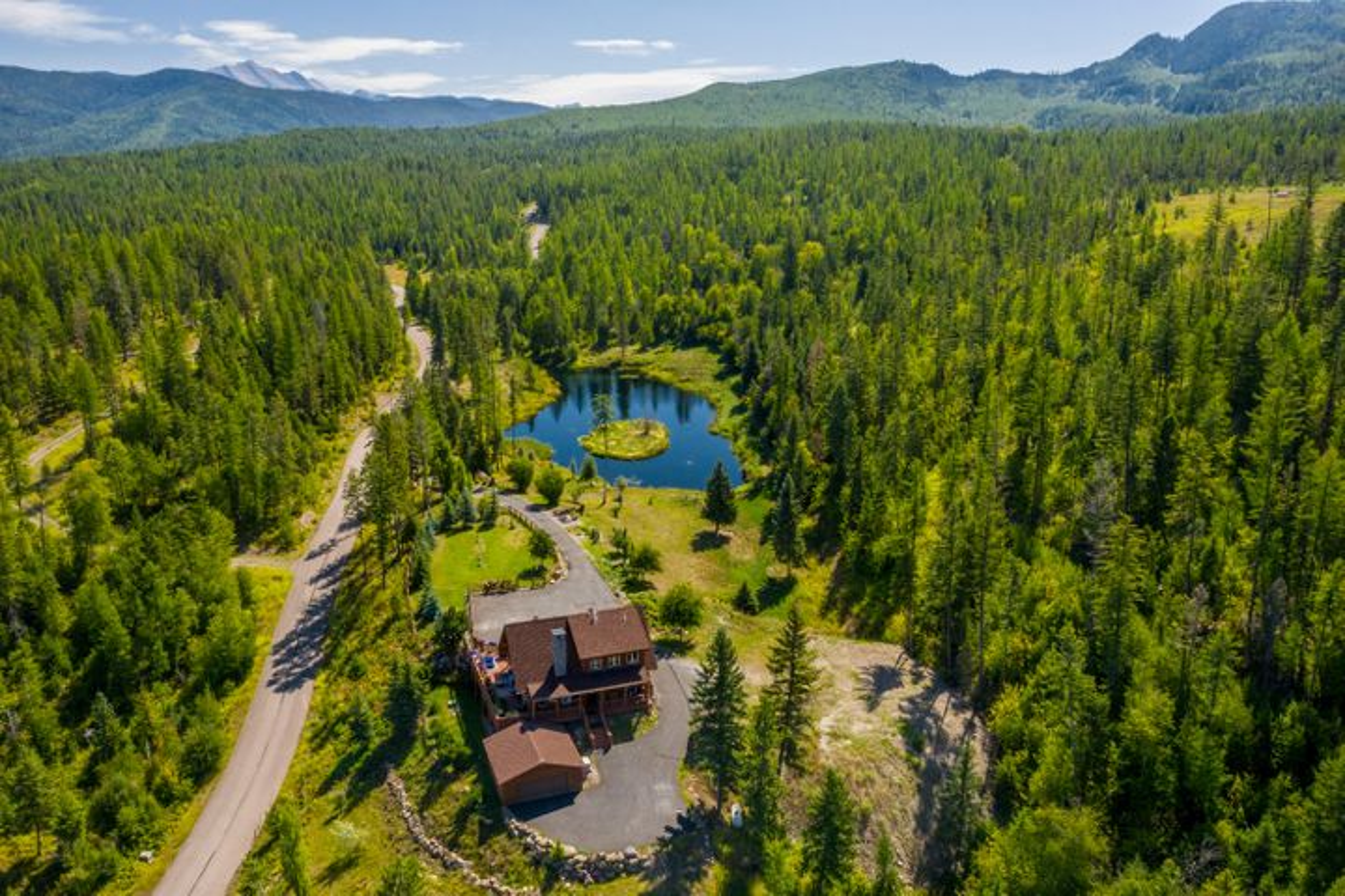 1445 Glacier Hills Drive, Martin City, MT 59926