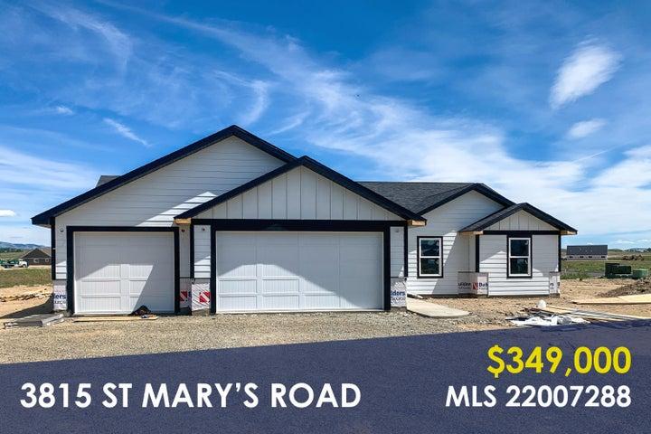 3815 St Marys Road, East Helena, MT 59635
