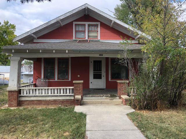Move to Main Avenue in Denton, Montana! This charming home has 3 bedrooms and 2 full bathrooms. Enjoy relaxing on the oversized covered front porch. Enter the home to find a living space that is flooded with natural light. Beautiful, tall windows allow in sunbeams, and the propane gas fireplace adds a warmth with its ornamentation. The kitchen is bright and cheery designed with lovely cabinets that are highlighted by the sparkling wood laminate floor. There is a detached, double car garage just beyond the cute backyard space. Take advantage of this incredible deal and add your own customizations creating your own picturesque possibilities! Resting in the heartland of Fergus County is Denton, Montana. This community now serves as one of the top producing dryland farm and cattle production areas in the state. The fertile ground that surrounds Denton provides farmers with fields to seed and ranchers with nutrient rich grass to graze. The rolling plains of this area are also ideal for game animals and birds to hide and roam the coulees making it great for hunting. Denton is the turn-around spot for the Charlie Russell Chew Choo, a three-hour train ride in which travelers can watch the beautiful countryside pass by while enjoying a prime rib dinner.