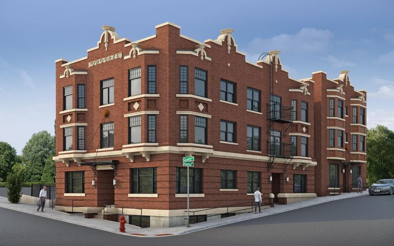 New condos in the O'Rourke Building, one of Butte's most special Uptown buildings. For either an owner occupant or an investor looking for a quality rental. The O'Rourke was original built in 1900. The owners are in the process of completely re-developing the property into modern and chic condos while maintaining the buildings original and unique character. The O'Rourke will be finished to a high-end. There are a total of 11 units. This is a one bedroom unit on the third floor. Large bay-window., 9' ceilings, maple hard wood floors, original trim. Refer to the pictures and the attachments for additional details on finishes and layouts. Laundry facilities and storage in the building. Building protected with a modern security system. Roof-top access