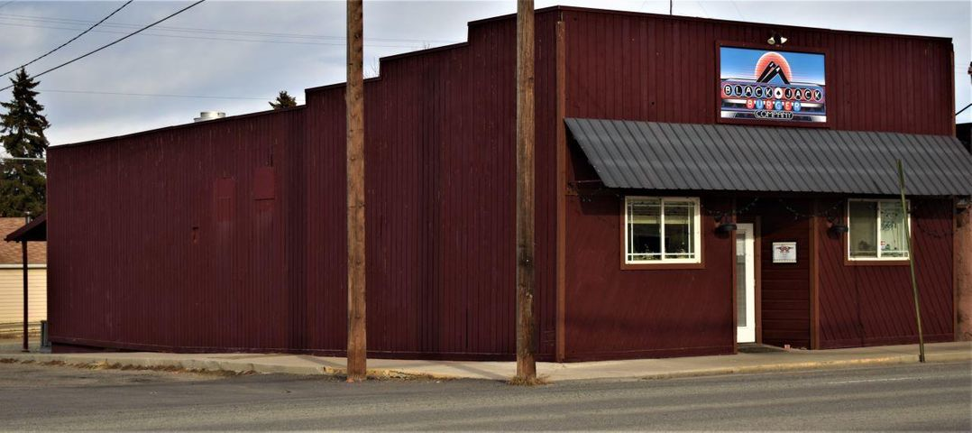 Commercial building with desirable store front right on Main Street in the growing town of EAST HELENA! Currently used as a restaurant, but the possibilities are endless. Nearly 2,000 square feet of space including a large kitchen with fire suppression. Recently remodeled bathrooms, lots of equipment,  tastefully decorated, abundant storage and clean as a whistle. This price includes equipment for you to start your own business or you can choose to purchase the existing business for a little more money and jump right into being your own boss!  Call Tobie at 406-202-3272 or your real estate professional for a personal showing.