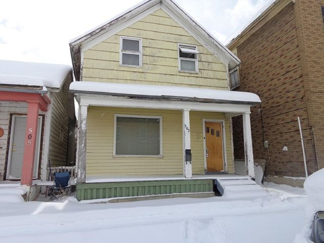 Two-bedroom, one-bathroom home with over 1200 square feet on two levels with two porches and cellar.  This property is a ''fixer-upper'' being sold in ''as-is'' condition.  Seller will look at all offers.
