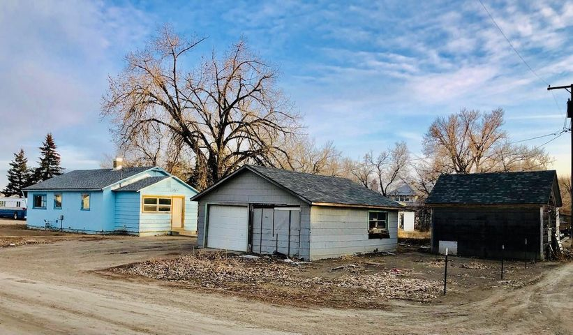 Ever want to Live in a town of less than a 100 People? How about in a Place where 3 Rivers meet? This home can be your starting point for a full time residence, hunters cabin or whatever you can imagine. 2 Bedroom, 1 Bath Room, Double Car Detached Garage and Shed (has also  been lived in) New roofs, updated furnace, plumbing, flooring, bathroom, has a Well and Septic System. Loma ,MT is located near the Gateway to the upper Missouri Breaks which is over 6000 acres of public land & the Marias & Missouri Rivers are just down the street, with  trophy small mouth bass, walleye, sauger, pike, catfish, brown trout & more. The area has great hunting for upland birds & waterfowl; deer, antelope & elk. Call Stacy Good at (406) 868-9509, or Your Real Estate Professional.