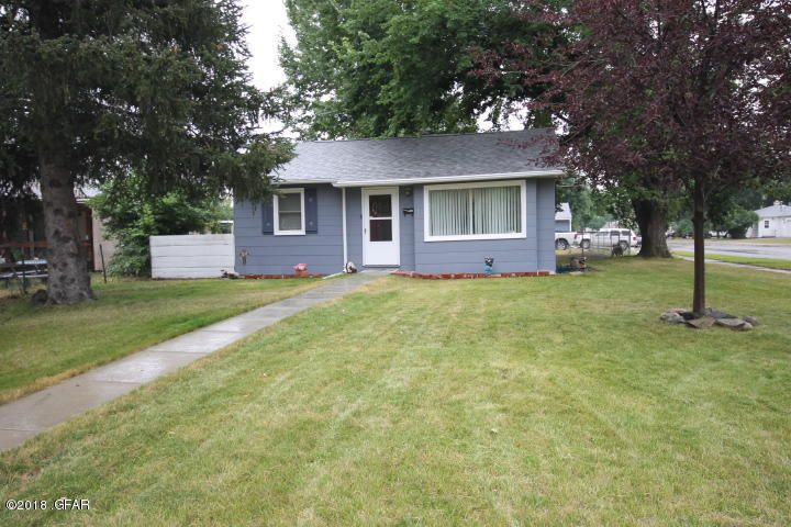 Darling East end home! You will love the updated kitchen, upgraded windows, cheery bright living and dining room too. An over sized garage with room to work Extra RV parking as well.