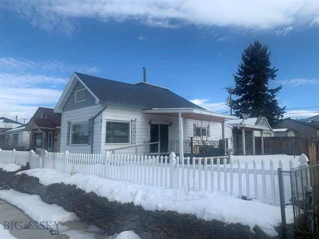 All living on one floor, including laundry area. Many updates including to bathroom. plumbing, heating and electrical systems, flooring and interior paint. Full basement for storage. 2-car garage plus a separate workshop/storage room. Covered porch on the east side. Large, fenced parcel. Convenient downtown location.