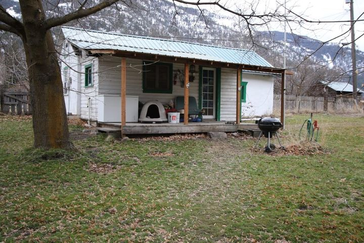 Tons of Potential in Paradise, MT.  Come and enjoy watching the Big Horn Sheep from the front deck of this adorable home.  It might not be big, but it is all one needs.  There is one large bedroom, a full bathroom and a large living room.  The kitchen is 1950's retro and very charming.  The small home sits on a large lot in Paradise.  It is fenced and has wonderful views of the mountains.  There is lots of room to expand and relax. Contact Deb Warren at 406-544-5971, or your real estate professional.