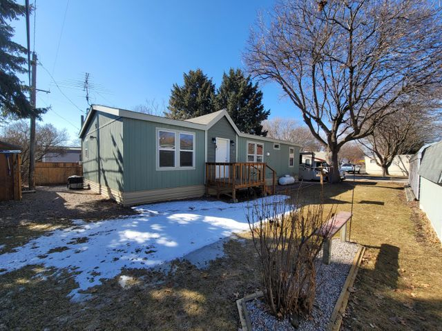 Immaculately maintained Modular home located in the KOA.  Pride of Ownership shows inside & out in  this 28 X 48  3 bed 2 bath home.  Many add on's and furniture can be included with home if Buyers desire.  Although the home was built in 2014, ownership and occupancy did not take place until 2017.   KOA approval of new ownership prior to remaining in the park.  Located just a hop skip and a jump from the pool & hot tub area, you can enjoy everything this park has to offer as a new tenant.  $340/mo lot rent.  For more information or to view this home call Kim Bennett @ 406-880-7480 or your Real Estate Professional.