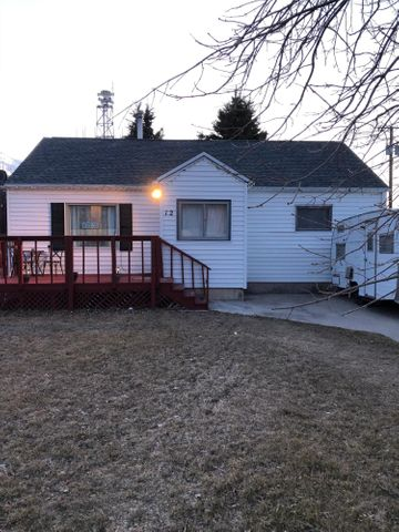 Adorable 2 bed,1 bath home in the Fairfield original townsite. Easy commute to Great Falls and surrounding areas, you can breathe easy in small town comfort right along the Rocky Mountain Front.