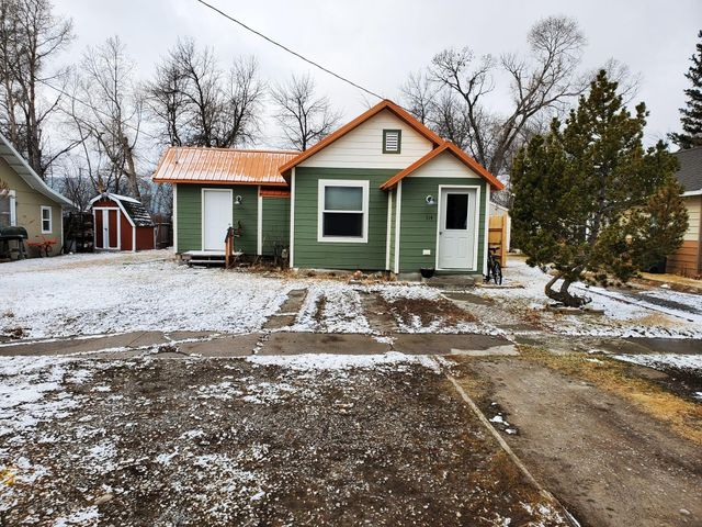 Very nice 1 bed, 1 bath home next to spring creek. This home was totally rebuilt with new roof, siding, windows, kitchen, large bathroom with laundry included electrical service and much more.  Must see to appreciate. Call Jim Bouma at 406-590-5375, or your real estate professional.