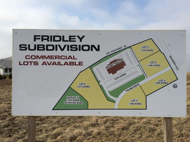 LOT 2 FRIDLEY SUBDIVISION, Muscatine, IA 52761