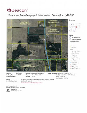 HWY 38 PARCEL, Muscatine, IA 52761